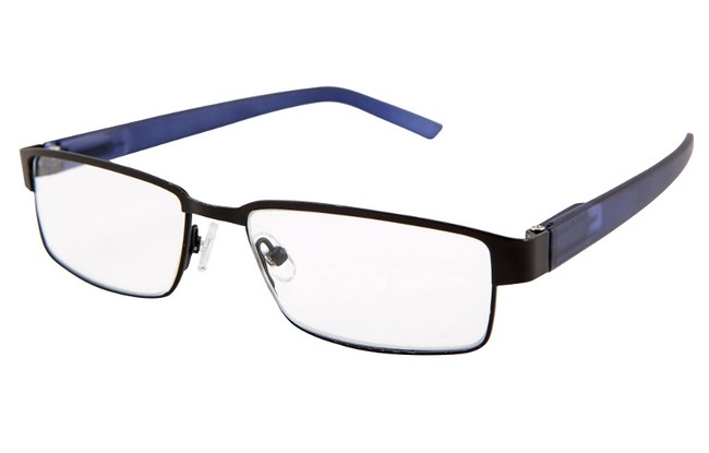 AC3 black and navy blue frame
