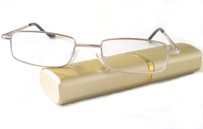 Gold tube readers come with a free hardshell elliptic container with slide-on top
