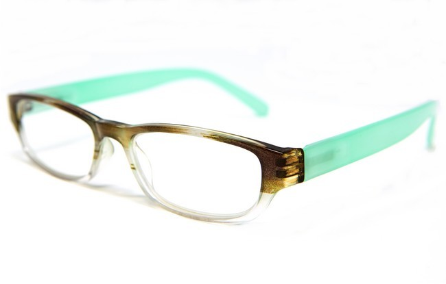 Type XD6 in tortoiseshell with contrasting pale aqua arms